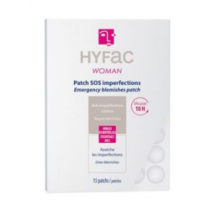 HYFAC WOMAN PATCHS SOS ANTI-IMPERFECTIONS SACHET DE 15 PATCHS