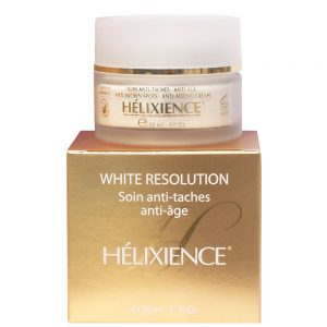 HéLIABRINE HéLIXIENCE WHITE RESOLUTION SOIN ANTI-TACHES , ANTI-AGE 50ML