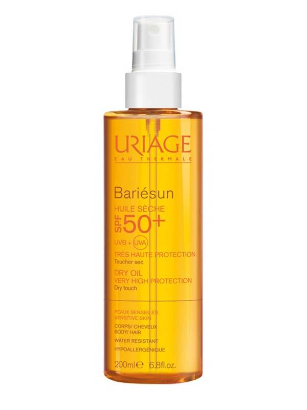 uriage barièsun spf50  huile sèche 200ml