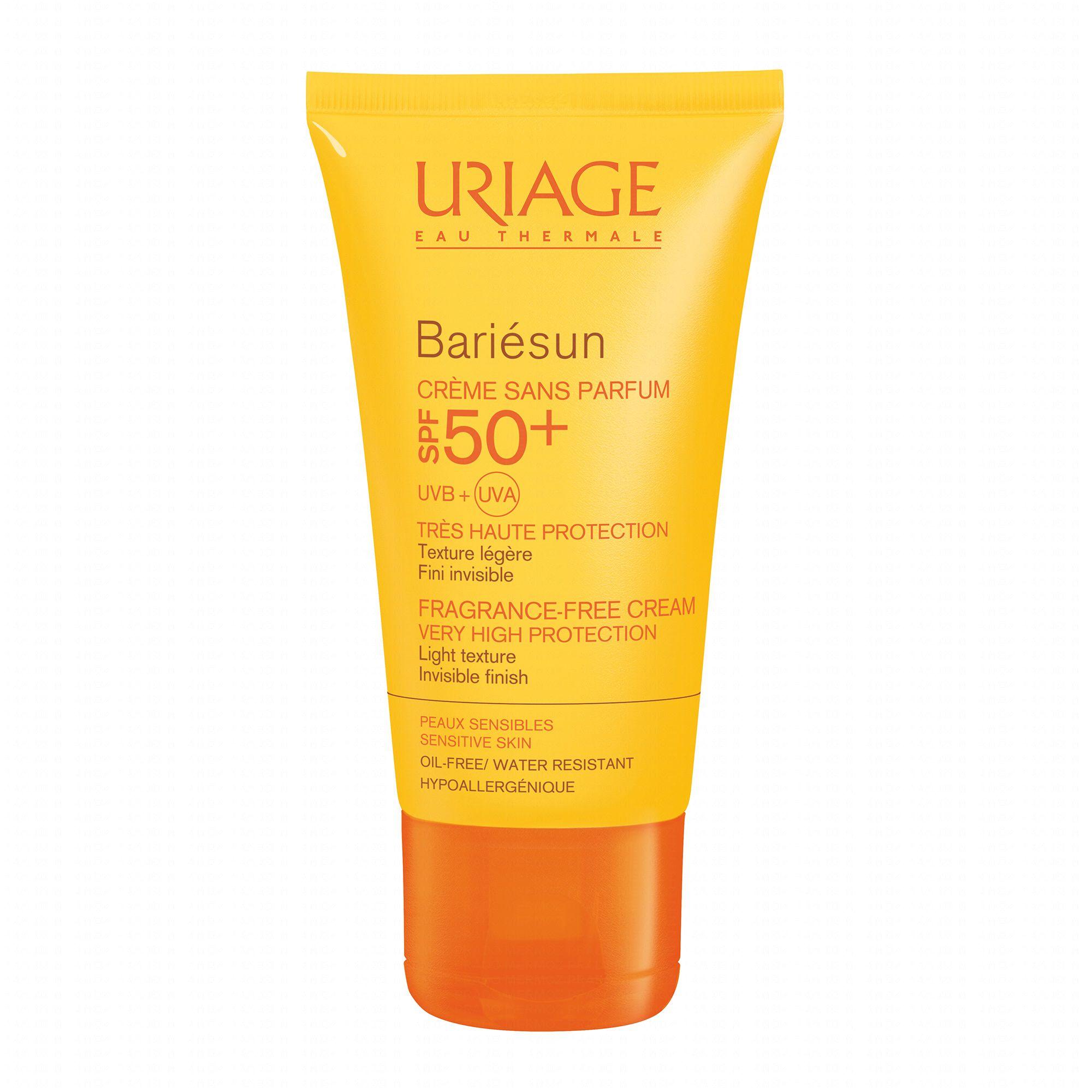 uriage barièsun spf50  crème sans parfum 50ml