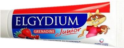 ELGYDIUM DENTIFRICE JUNIOR ARÔME GRENADINE (50 ML)