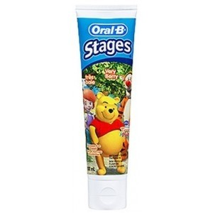 ORAL-B DENTIFRICE KIDS STAGES 75ML SANS SUCRE
