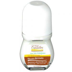 rogé cavaillés déodorant soin dermatologie roll on sans sels d'aluminium 50ml