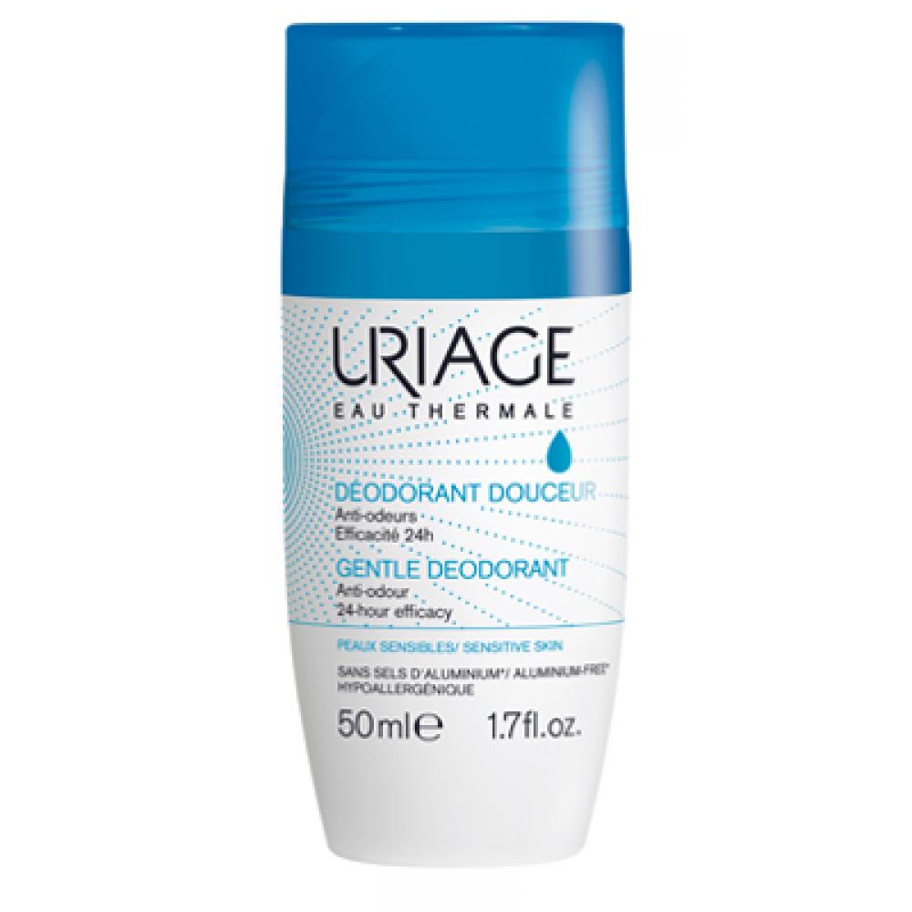 uriage déodorant douceur 50ml (sans sels d'aluminium)