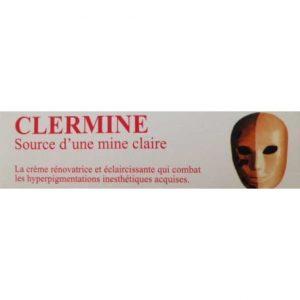 DERMO SOINS CLERMINE CRÈME RÉNOVATRICE ET ÉCLAIRCISSANTE 30G