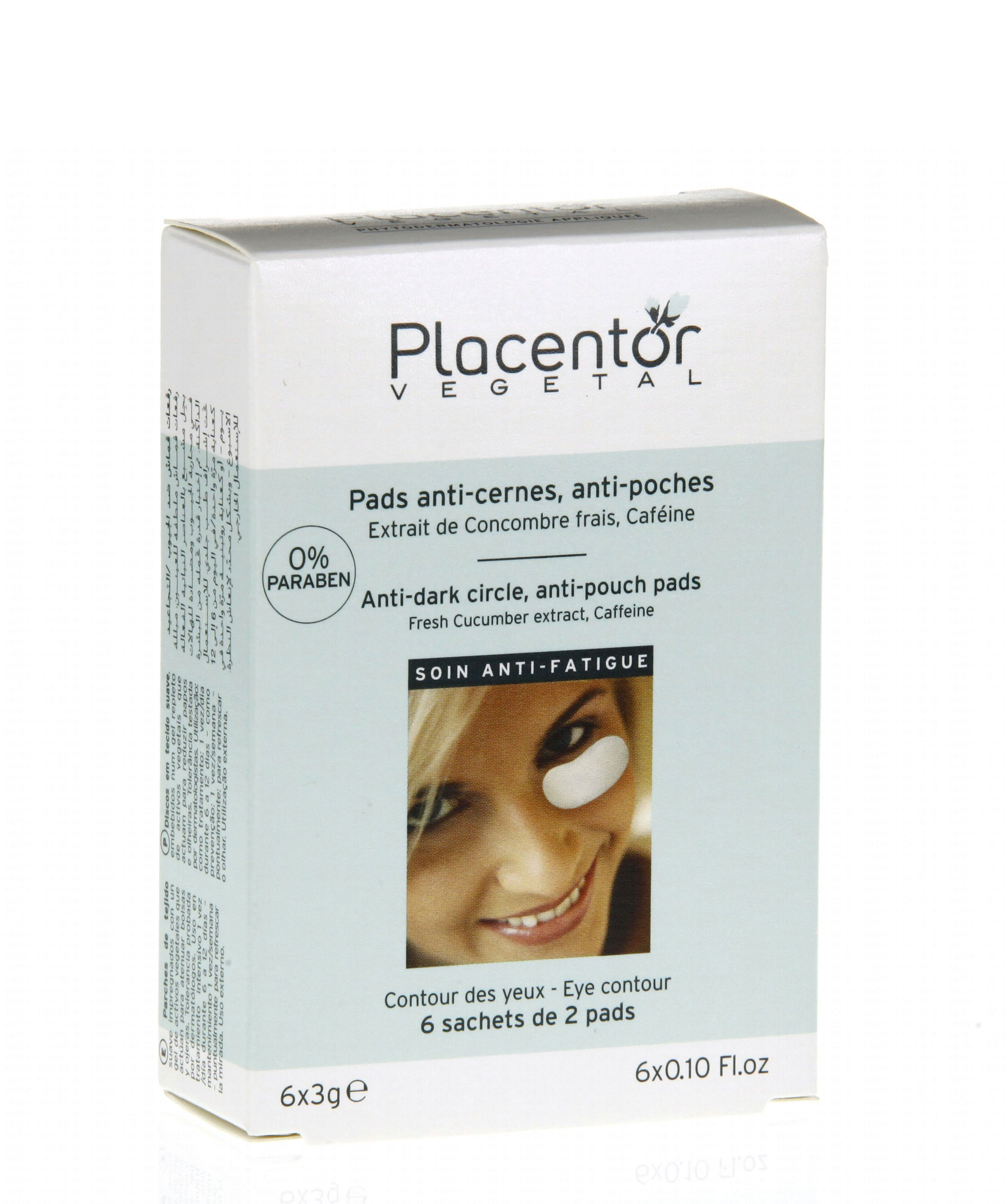 PLACENTOR VEGETAL PADS ANTI-CERNES/ANTI-POCHES
