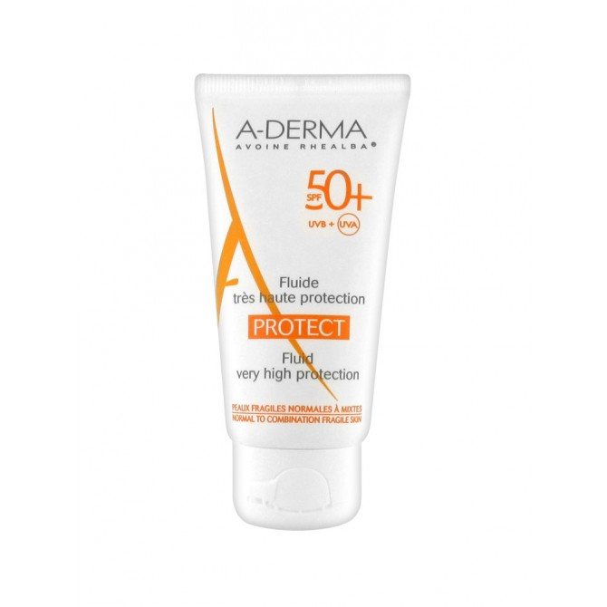A-DERMA PROTECT FLUIDE TRÉS HAUTE PROTECTION 40ML