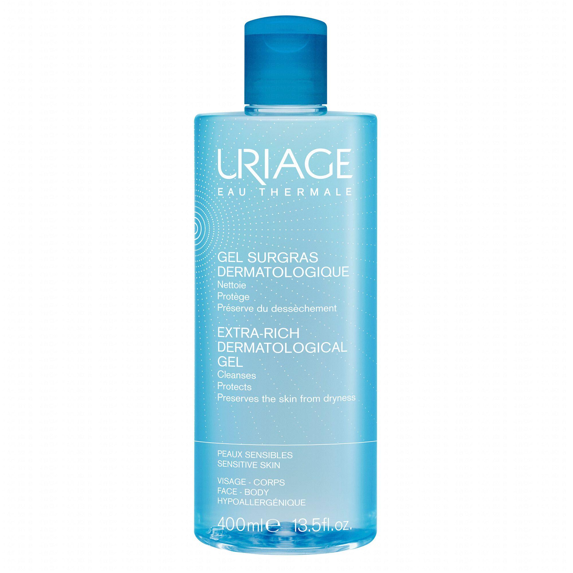 uriage surgras liquide dermatologique 400ml