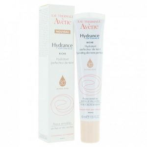AVENE HYDRANCE OPTIMALE RICHE HYDRATANT PERFECTEUR DE TEINT SPF 30 BONNE MINE 40 ML