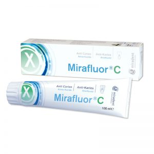 MIRADENT MIRAFLUOR C DENTIFRICE ANTI-CARIES 100ML