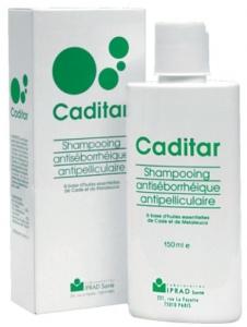 CADITAR SHAMPOOING ANTIPELLICULE antiséborrhéique 150ML