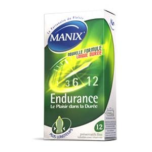 MANIX ENDURANCE PROLONGATEUR DE PLAISIR 12
