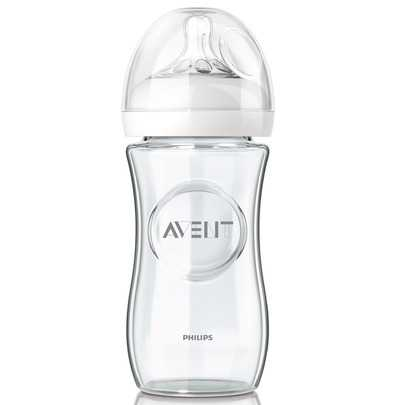 AVENT NATURAL BIBERON EN VERRE 240 ML