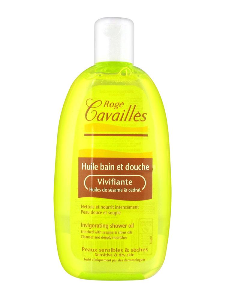 rogé cavaillés huile bain et douche vivifiante 250ml