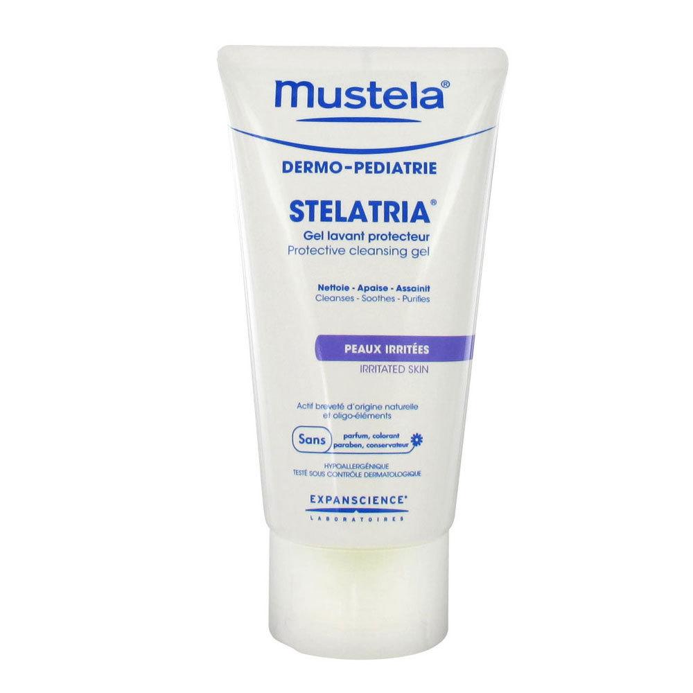 mustela STELATRIA® Gel lavant protecteur 150ml