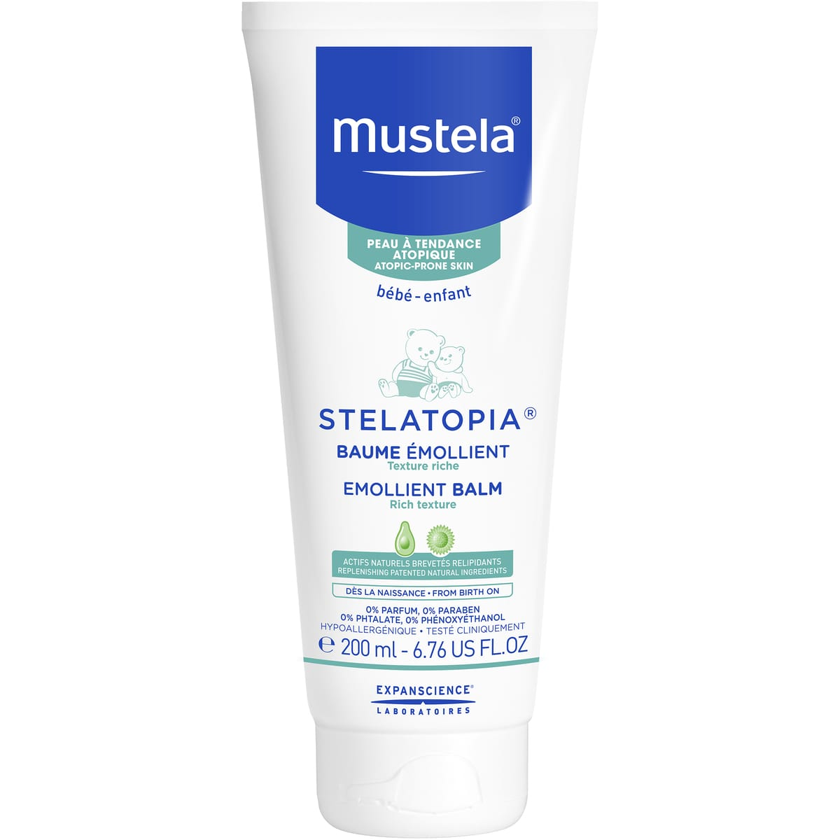 mustela STELATOPIA® Baume relipidant 200ml