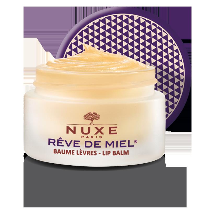 nuxe Rêve de miel® Baume lèvres ultra-nourrissant, Edition Rock 15g