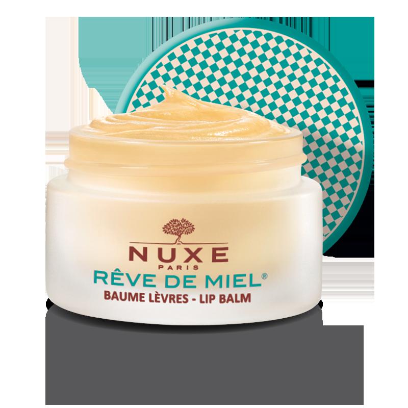 nuxe Rêve de miel® Baume lèvres ultra-nourrissant, Edition Nature 15g