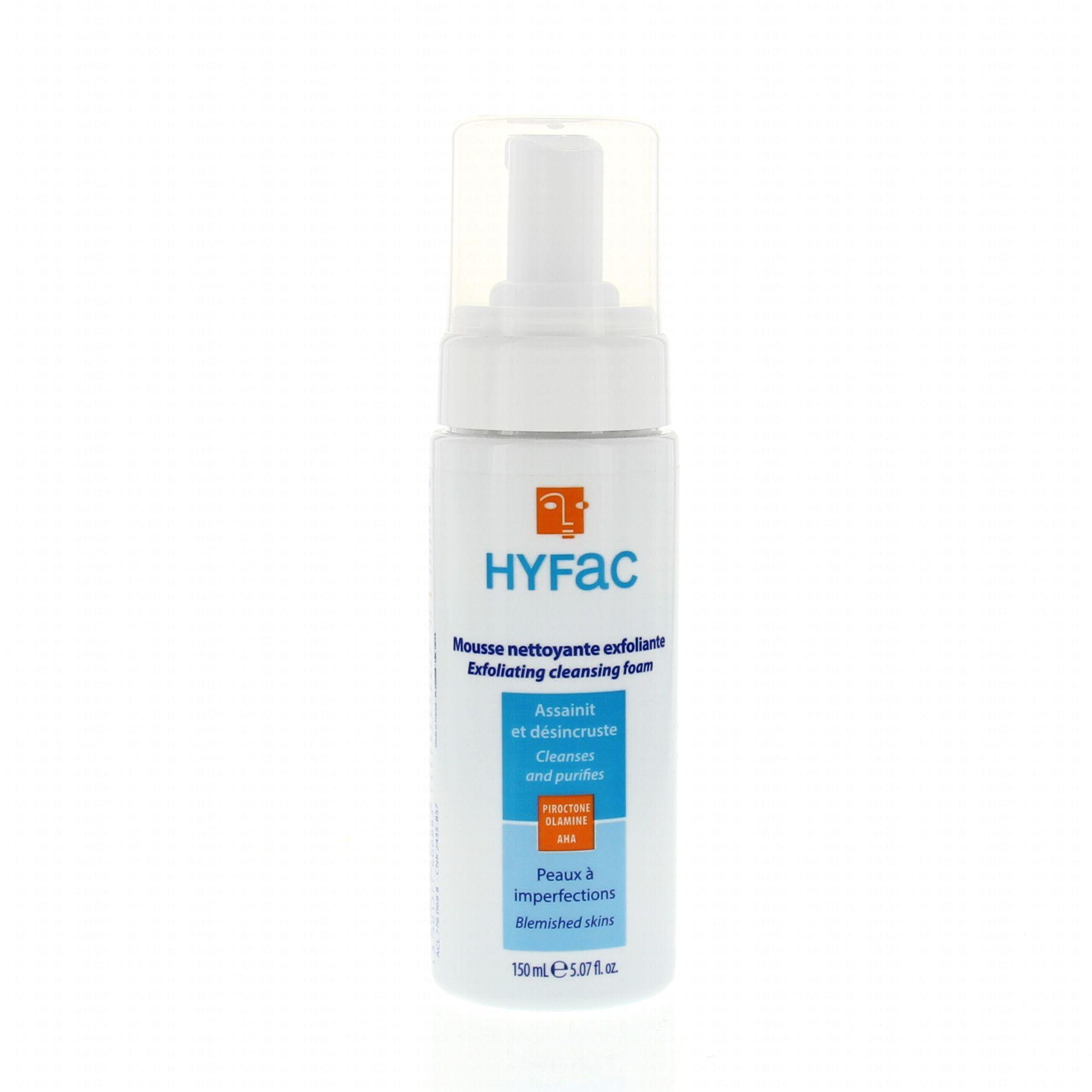 HYFAC MOUSSE NETTOYANTE EXFOLIANTE 150 ML