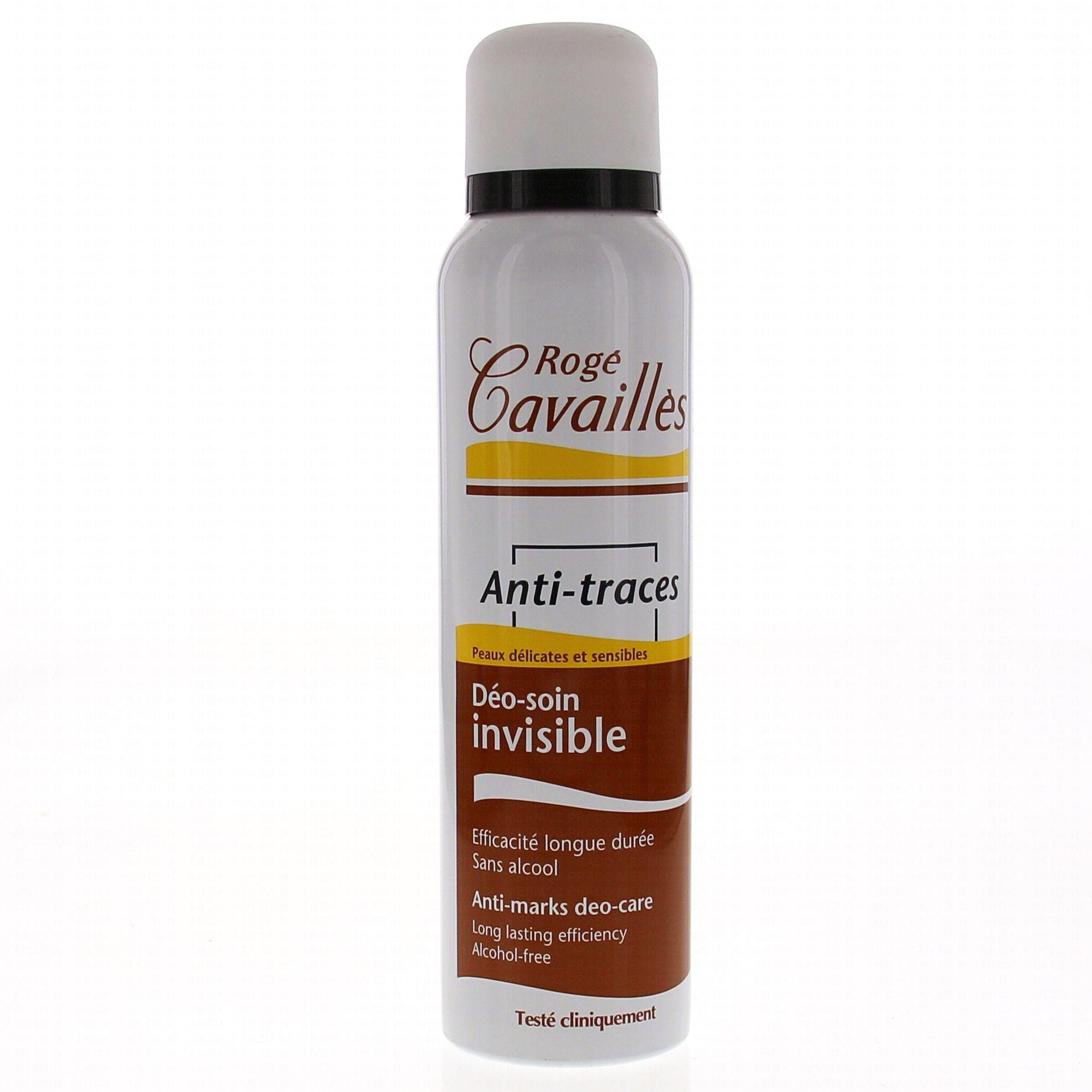 rogé cavaillés déodorant soin spray invisible Anti-traces 150ml