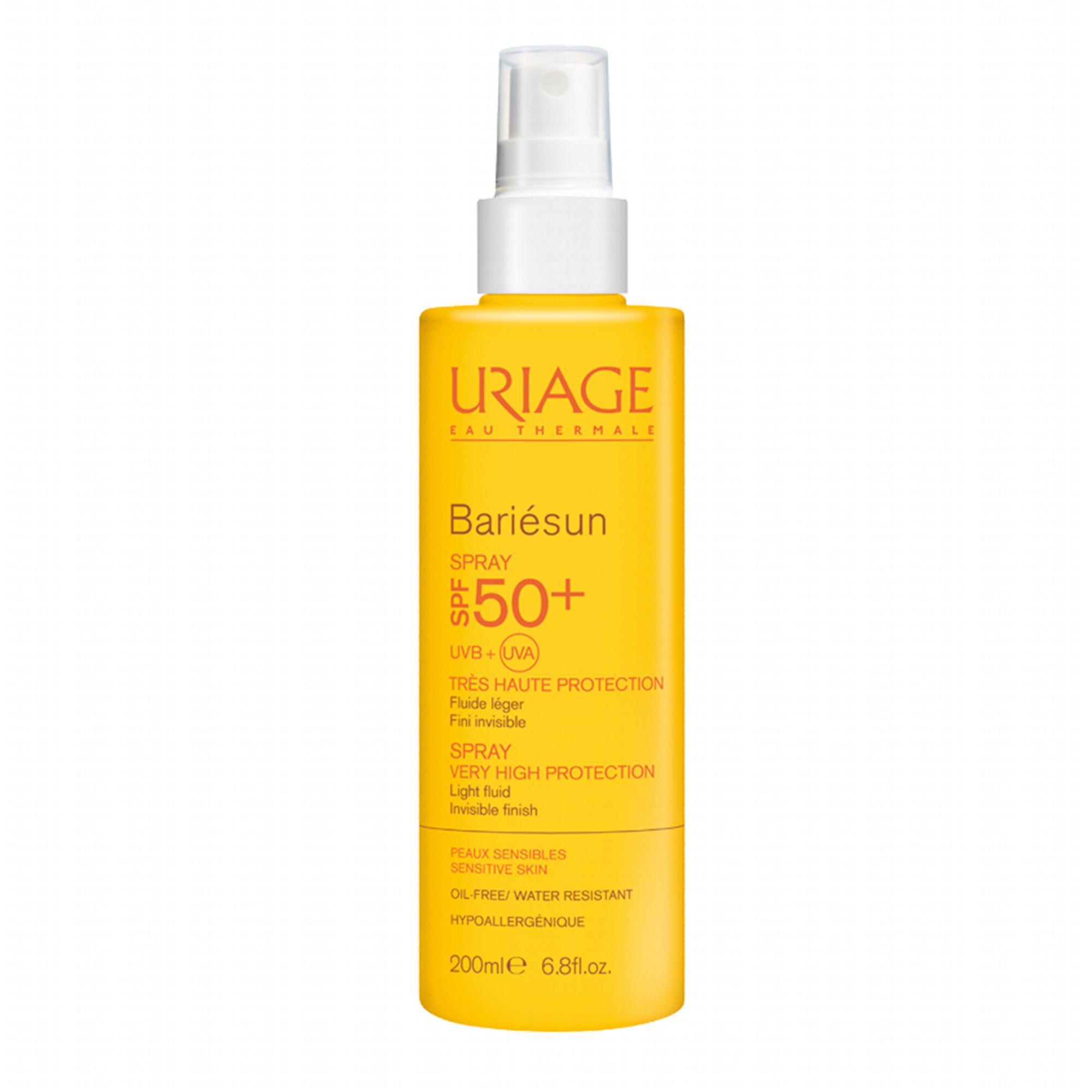 uriage barièsun spf50  spray 200ml
