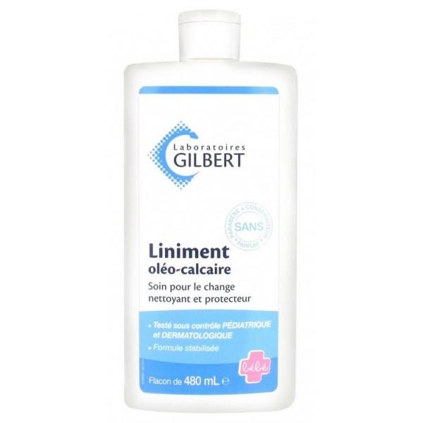 GILBERT LINIMENT OLÉO-CALCAIRE STABILISÉ 480 ML