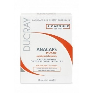 DUCRAY ANACAPS 30 CAPSULES