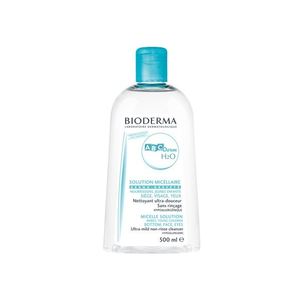 BIODERMA ABCDERM H2O SOLUTION MICELLAIRE 500 ML