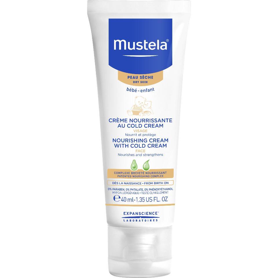 mustela cold cream visage 40ml
