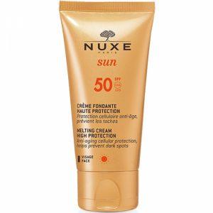 nuxe sun Crème fondante visage spf 50