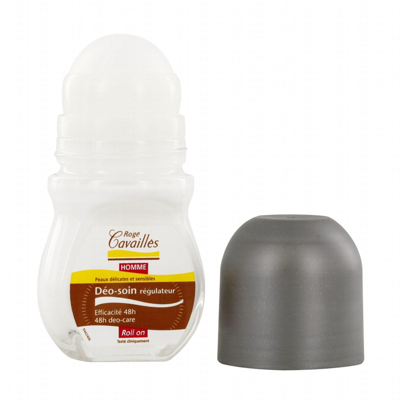 rogé cavaillés déodorant soin régulateur roll on homme 50ml